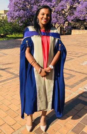 APFP's first graduate